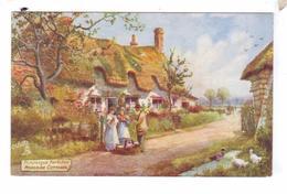 TUCK S Oilette Berkshire Series 1 Roadside Cottages Upper Thames - Autres
