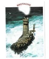 """29 La Pointe Du Raz  Le Phare De La Vieille """"Au Coeur Des écueils Et Des Brisants,la Vigie Indestructible""""  TBE - La Pointe Du Raz"""