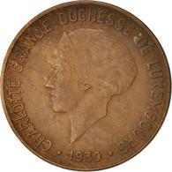 Monnaie, Luxembourg, Charlotte, 10 Centimes, 1930, TTB, Bronze, KM:41 - 10 Cent