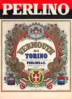 """07749 """"VERMOUTH DI TORINO -  PERLINO & C. ASTI"""" ETICH. ORIG. - Etichette"""