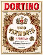 """07751 """"VINOI VERMOUTH APERITIVO -  DORTINO - VINILICORES ESPANOLES S. A."""" ETICH. ORIG. - Etichette"""