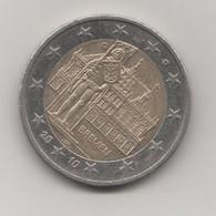 BREMEN BREME ALLEMAGNE - PIECE DE 2 EUROS LETTRE D  DE 2010, VOIR LES SCANNERS - Allemagne