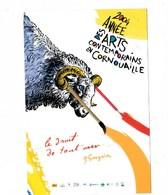 """2004 Année Des Arts Contemporains En Cornouaille """"Le Droit De Tout Oser..P.Gauguin """" BE - Arts"""