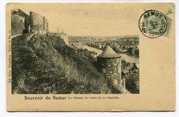 CPA - Carte Postale - Belgique - Namur - Le Chemin De Ronde De La Citadelle - 1900 (M7841) - Namur