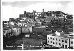 Rocchetta Sant'Antonio (Foggia). Panorama Con L'edificio Scolastico. - Foggia