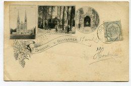 CPA - Carte Postale - Belgique - Souvenir D'Oostacker - 1901 (M7842) - Gent