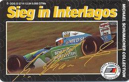 GERMANY  O 2714 94  Michael Schumacher Collection -Auflage 5000 - Unbenutzt - Deutschland
