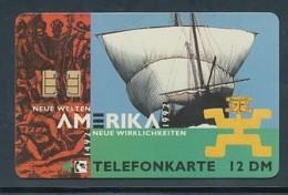 GERMANY O 212.92 12 DM Neue Welten Amerika - Auflage 4.000  - Leer *15017* - Deutschland