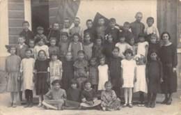 ITALIE - VENETIE  MEOLO  ANNEE SCOLAIRE 1925  GROUPE D'ELEVES  CARTE PHOTO - Italia