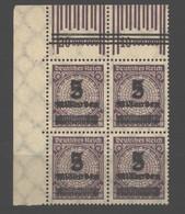 D.R.332 Eck-VB,OPD Breslau ,xx (108) - Unused Stamps