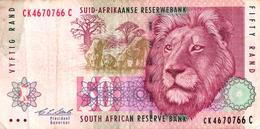 BILLET FIFTY RAND - AFRIQUE DU SUD - Afrique Du Sud