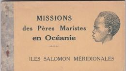 ¤¤  -  ILES SALOMONS MERIDIONALES  -  Missions Des Pères Maristes En Océanie  -  Carnet De 12 Cartes  -  ¤¤ - Solomoneilanden