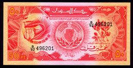 SUDAN 50 PIASTRES 1987 Pick 38 Unc - Sudan