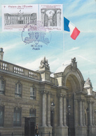 Carte  Maximum  1er  Jour  Congrés  De  La   F.F.A.P   Palais  De  L' Elysée   PARIS   2018 - Cartes-Maximum