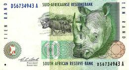 BILLET TEN RAND - AFRIQUE DU SUD - Afrique Du Sud