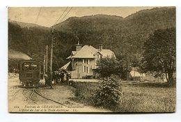 CPA  88 : GERARDMER  Hotel Du Lac Et Train   VOIR DESCRIPTIF  §§§ - Gerardmer