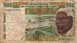 BILLET DE 500 FRANCS CFA - BCEAO - AFRIQUE DE L'OUEST - Billets