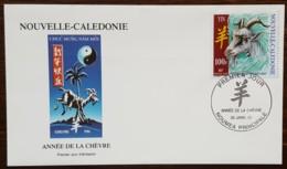 Nouvelle-Calédonie - FDC 2003 - YT N°883 - Année De La Chèvre - FDC