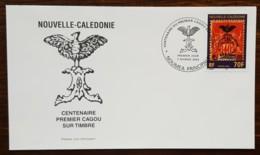 Nouvelle-Calédonie - FDC 2003 - YT N°889 - Centenaire Du 1er Cagou Sur Timbre - FDC