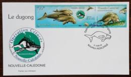 Nouvelle-Calédonie - FDC 2003 - YT N°898, 899 - Faune / Opération Cétacés / Le Dugong - FDC