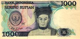 BILLET DE 1000 RUPIAH BANK INDONESIA - SERIBU RUPIAH - Indonesia