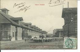 Les Abattoirs De La Villette-Marché Aux Bestiaux-Les Moutons - Arrondissement: 19