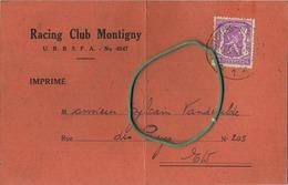 Racing Club Montigny     (  Regarder 2 Scans  Pour Detail ) - Montigny-le-Tilleul