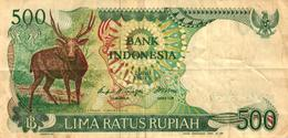 BILLET DE 500 LIMA RATUS RUPIAH - BANK INDONESIA - Indonésie