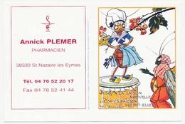 Calendrier De Poche 2000 Les Fables De La Fontaine La Cigale Et La Fourmi Felix Lorioux Art Et Illstration - Calendriers