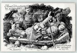 52928067 - Soldat Ratte Karikatur - Guerra 1914-18