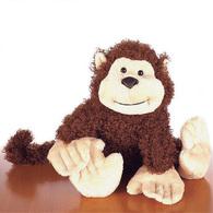 Peluche Collector Petit Singe GANZ Ty Beanie Monkey Stuffed Animal - Peluches