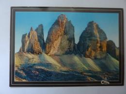 """Cartolina Viaggiata """"Tre Cime Di Lavaredo""""  1997 - Italia"""