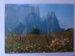 """Cartolina Viaggiata """"Primavera Sull'Alpe Di Siusi"""" 1991 - Italia"""