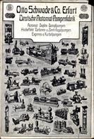 Cp Erfurt In Thüringen, Otto Schwade & Co. Deutsche Automat Pumpenfabrik, Modelle Der Pumpen - Sonstige
