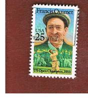 STATI UNITI (U.S.A.) - SG 2356 - 1988  F. OUIMET, GOLF  - USED - Stati Uniti