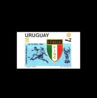 Uruguay: Vignette 'Fussball-Weltmeisterschaft, 1983' / Cinderella 'Football World Cup' ** - World Cup