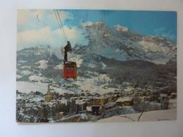 "Cartolina Viaggiata ""CORTINA Funivia Al Faloria E  Gruppo Tofane"" 1984 - Italia"