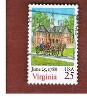 STATI UNITI (U.S.A.) - SG 2359 - 1988  VIRGINIA STATEHOOD BICENTENARY  - USED - Stati Uniti