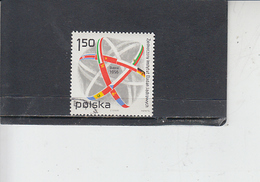 POLONIA  1975 - Yvert  2270 - Nucleare - 1944-.... Repubblica
