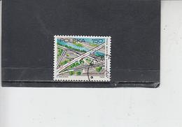 POLONIA  1974 - Yvert  2164 - Ponte - 1944-.... Repubblica