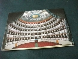TEATRO THEATRE THEATER  THEATRES COMUNALE FERRARA INTERNO ARCH. ANTONIO FOSCHINI - Teatro