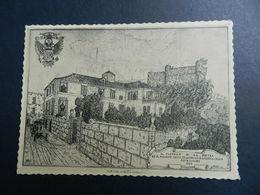 19901) PIETRA LIGURE CASTELLO LA PIETRA DA ANTICA STAMPA CAV MIMO GRAMMATICA - Savona