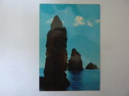 """Cartolina Viaggiata """"ISOLE EOLIE - LIPARI I Faraglioni"""" 1984 - Italia"""