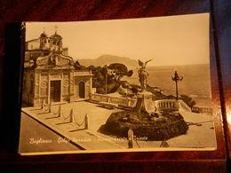 15874) GENOVA BOGLIASCO GOLFO PARADISO PIAZZA TRENTO E TRIESTE NON VIAGGIATA - Genova