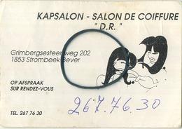 Grimbergen :  Reclame  :  Kapsalon - Coiffeur - Grimbergen