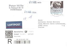 LETTERA X ITALY MUTTER TERESA - [7] Repubblica Federale