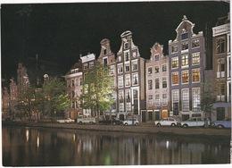 Amsterdam: VW T2-PICKUP, OPEL REKORD A, BMW 2500, FIAT 500, 850, PEUGEOT 204 BREAK - Keizersgracht - (Holland) - Toerisme