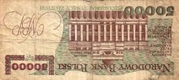 BILLET BANK POLSKA - 50000 ZLOTYCH - Pologne