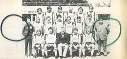 F.C. ASSENT  (  Kaggevine - Bekkevoort )  :  Football - Voetbal :  LUBANSKI   :  21.5 X 10 Cm  (  Zie Scans ) - Vieux Papiers