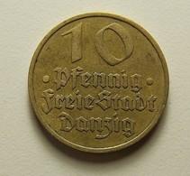 Danzig 10 Pfennig 1932 - Münzen